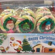 聖誕棉花棒糖